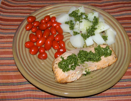 green-sauce-and-fish