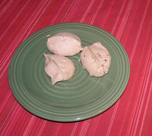 chocolate-meringues