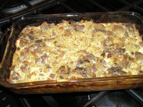 eggplant casserole pan