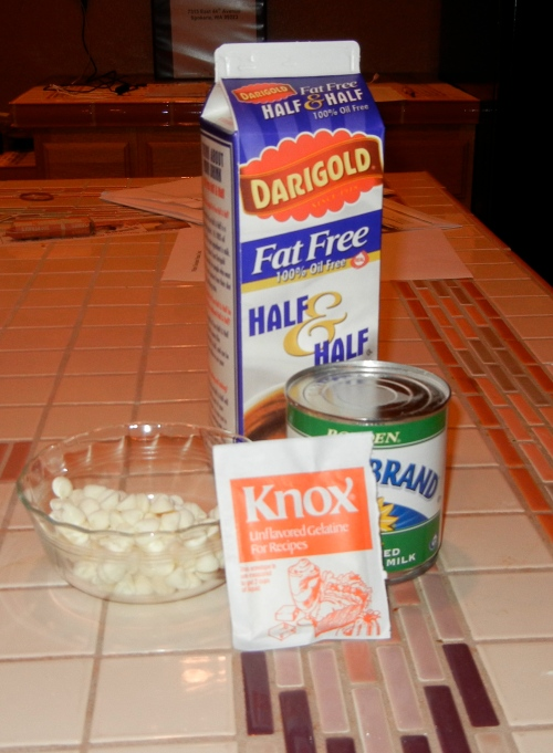 panna cotta ingredients